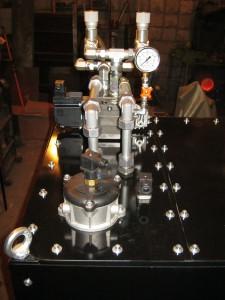 Установлен датчик загрязнённости  фильтра, датчик уровня жидкости, датчик  температуры жидкости.